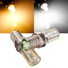 E14 LED Bulb 3W 64 SMD 3014 AC 85-265V White/Warm White Corn Light
