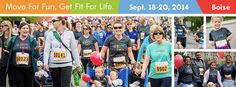 Mom & Dad register for FitOne by 8/31 to save $5. Kids 12 and under are FREE if registered by 9/14!