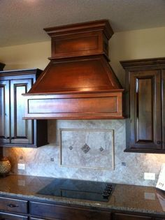 Below You are looking at an old dated Island Range Hood / Hood Range (Whichever comes first!) It was a white eye sore in the m. Hoods Over Stoves, Stove Hoods, Kitchen Hoods, Kitchen Stove, Copper Hood Vent, Copper Range Hoods, Vent Hood, Kitchen Cabinet Styles, Kitchen Cabinets