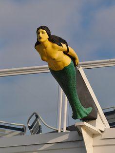 Mermaid Figurehead, via Flickr.