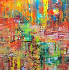 """""""Joy""""  48x48, oil on panel 2012"""