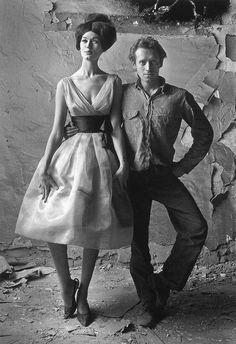 Simone D'Aillencourt /Me, Harper's Bazaar, 1960  Melvin Sokolsky