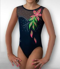 dreamlight-activewear-dripping-flower-tank-leotard-profile.jpg 300×346 pixels