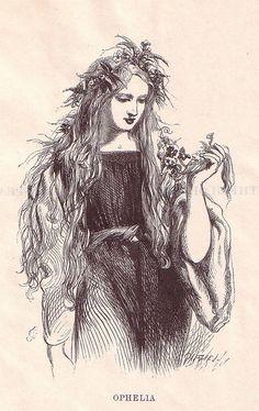 Sir John Gilbert as Illustrator...Ophelia