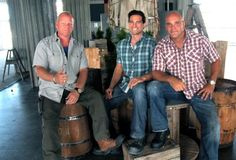 Love these guys!  Mike Holmes, Scott McGillvray, and Brian Baeumler