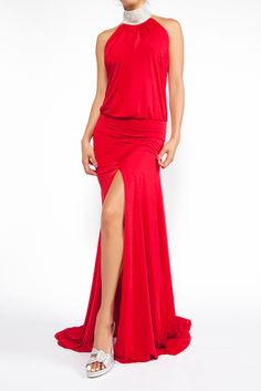 Beautiful red Savee dress