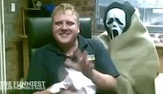 Those who dare to scare. | 17 Absolutely Brutal Pranks To Play On Your Friends #halloween #pranks #halloweenfun