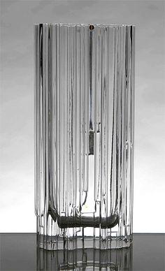 Tapio Wirkkala, Alpina Vase for IItala, Vintage Vases, Vintage Pottery, Glass Art Design, Design Art, Glass Ceramic, Glass Vase, Scandinavian Design, Nordic Design, Mid Century Modern Design