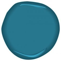 Benjamin Moore Avalon Teal paint, this is one of the accent colors for our basement