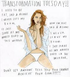 The wonderful Julie Houts (Jooleeloren) describes an AMAZING TRANSFORMATION