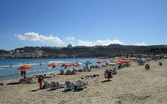 Fabulous Mellieha Bay (locally known as L-Ghadira) ... Learn more about this popular beach by visiting http://www.maltabulb.com/mellieha_bay.html