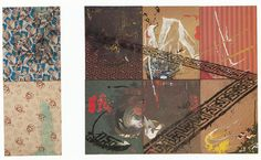 "Sigmar Polke - Rasterbild mit Palmen 1966 Oil on canvas 130 x 110 cm 52 x 44"""