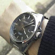 Instagram photo 2018-02-11 10:28:47 今日の時計 このモデルの後継?として発売された #SARX045 が海外ユーザーから