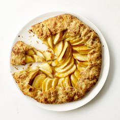 Apple Crostatas | This free-form tart is an easy, quick-to-prepare take on the iconic dessert.