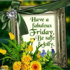 Friday greetings