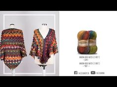 Çift Batik Kullanımında Krokodil Şal - Using Double Batik Crocodile Shawl Crochet Poncho, Crochet Top, Crocodile Stitch, Viking Tattoo Design, Moda Emo, Batik, Crochet Videos, Crochet Projects, Knitting