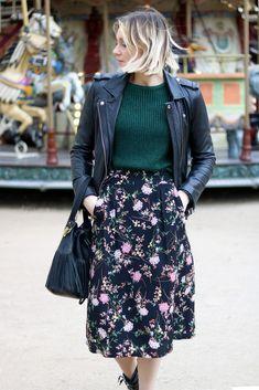 Comment porter la jupe à fleurs - Blog Mode DOU Artlex