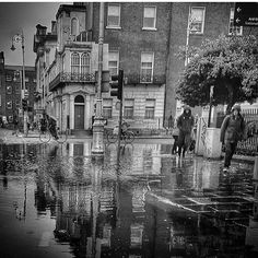 Another wet day in Dublin. Thanks to @hoggy_vegas for providing it