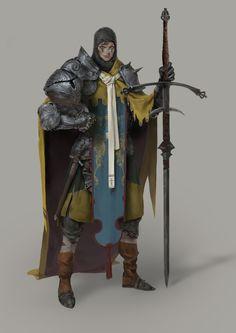 epic knight ^.^~~~~~ by Roma Kupriyanov