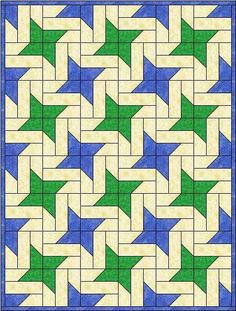 chisel-star quilt