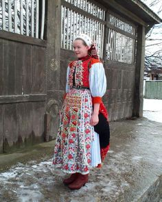 Girl's confirmation dress from Kalotaszeg