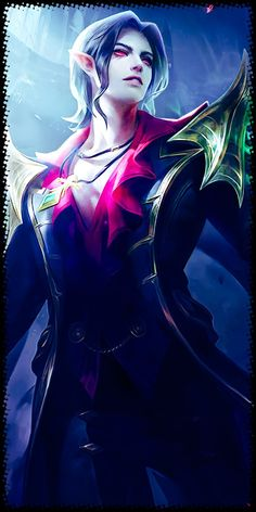 Cecilion - Embrace of Night Mobile Legend Wallpaper, Mobile Legends, Character Drawing, Bang Bang, Don't Judge, Wallpapers, Dark, Night, Drawings