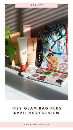 """This was one of my favorite Ipsy bags this year! Themed """"Force of Nature"""" the products inside were from natural beauty brands and brands that give back to nature. #ipsy #ipsyglambag #ipsyplus #thebalm #cocokind #addisonrae #rmsbeauty #cleanbeauty #naturalbeauty Monthly Subscription, Subscription Boxes, Clean Beauty, Natural Beauty, Cream Highlighter, Ipsy Bags, Ipsy Glam Bag, Acquired Taste, Back To Nature"""