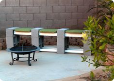 Roundup: Cool Backyard Projects Using Cinder Blocks, Pavers, and Concrete