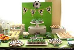 Hugo's 6th Birthday - Soccer Theme
