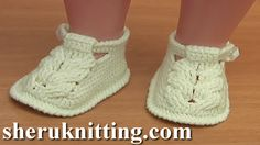 Crochet Shoes For Baby  Part 1: http://sheruknitting.com/sherufashion/clothes-for-kids/item/792-how-to-crochet-baby-shoes-sole-tutorial-54-part-1-of-3.html Part 2: http://sheruknitting.com/sherufashion/clothes-for-kids/item/795-srochet-sable-stitch-baby-shoes-tutorial-54-part-2-of-3.html Part 3: http://sheruknitting.com/sherufashion/clothes-for-kids/item/796-crochet-cable-buckle-shoes-for-child-tutorial-54-part-3-of-3.html In this crochet clothes video tutorial we will show you how to croche