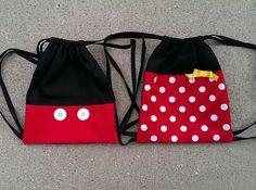 Idea mochila Mickey/Minnie