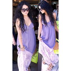 Vanessa Hudgens spotted with Vannessa Mooney accessory.  #celebrities #fashion #women   Get her look at www.TsAccessories2You.com.
