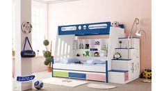 cama infantil en MDF laqueada (Cod. KLL202-C)