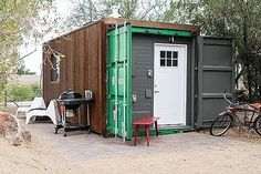 20′ Shipping Container Tiny House – Furnished, Completed, Turnkey