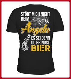 Strt Mich Nicht Beim Angeln - Angler shirts (*Partner-Link)