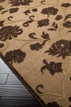 Portera Collection Mocha Rug by Surya on @HauteLook