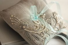 Ring bearer pillow - Nico grey from MillieIcaro