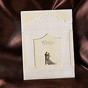 Delicate Palace Design Wedding Invitation (sæ... – DKK kr. 242