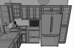 Corner Kitchen Sink idea