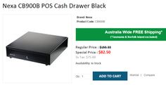 Get High discount Up-to 46% OFF on NEXA CB900B Cash Drawer Black. OnlyPOS based in Sydney is offering $82.50 Instead of $153.33. We provide FREE Shipping across Australia..!  http://www.onlypos.com.au/cash-drawer-nexa-cb-900-b