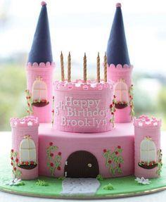 Como hacer una torta castillo princesa