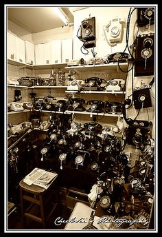 Antique Phones by vcheewei, via Flickr