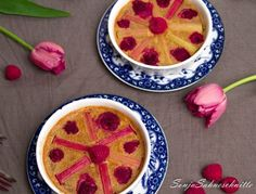 Rhababer-Himbeer-Clafoutis