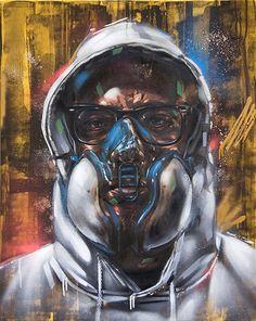 Graffiti Artist portraits - Rems 182