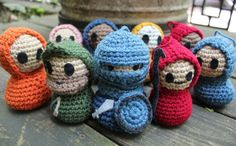 gotta show the kiddos, maybe now they'll get interested in crocheting....