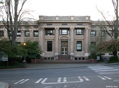 Architecture Hall at the University of Washington (Jase and Mark)