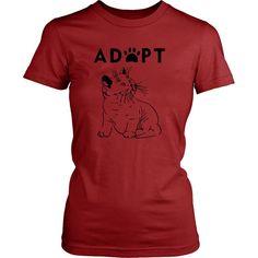 Adopt Kitty - Women's Fit