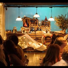 Our versatile Downstairs space transformed into a nautical themed 18th party venue with set design and production by @shuttlecockinc and food by @carousel_ldn  #themedevents #carousellondon #privateparty #dinneranddancing #centrallondonvenue #eventspace #eventproduction #nauticaltheme #maritimefunk