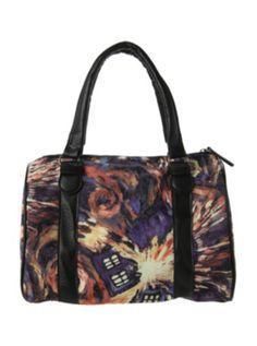 Doctor Who Exploding TARDIS Canvas Bag