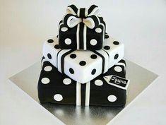 Beautiful domino's birthday cake..  such an amazing design